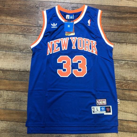 best sneakers 18acf c3f3d NWT Patrick Ewing New York Knicks NBA Jersey NEW NWT